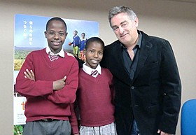パスカル・プリッソン監督と、ケニアのジャクソン&サロメ兄妹「世界の果ての通学路」