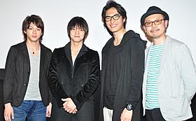 窪田正孝らが出席した「ガチバン ULTRA MAX」初日挨拶「ガチバン ULTRA MAX」