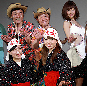 セクハラ疑惑ネタで盛り上がった 「上島ジェーンビヨンド」初日挨拶「上島ジェーン」