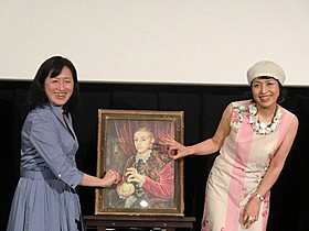 イラストレーターの石川三千花氏(右)とジャーナリストの萩原麻理氏「グランド・ブダペスト・ホテル」