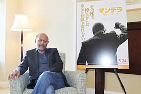 マンデラ氏本人から映画化を託されたプロデューサーのアナント・シン「マンデラ 自由への長い道」