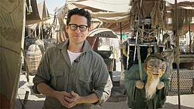 「スター・ウォーズ エピソード7(仮題)」 を撮影中のJ・J・エイブラムス監督「スター・ウォーズ」