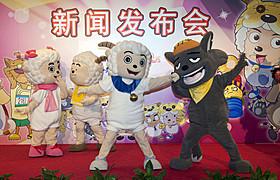「喜羊羊(シーヤンヤン)と灰太狼(ホイタイラン)」「一休さん」