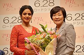 シュリデビと安倍昭恵夫人「マダム・イン・ニューヨーク」