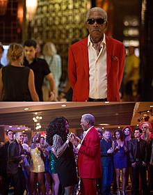 赤いスーツに身を包み、美女とダンスを決める見せ場も「ラスト・ベガス」