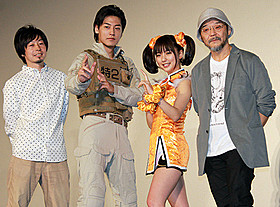 舞台挨拶に立った真野恵里菜、福士誠治ら「THE NEXT GENERATION パトレイバー 第2章」