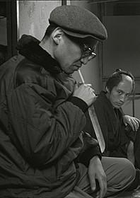 「刺青」撮影現場での増村保造監督「清作の妻」