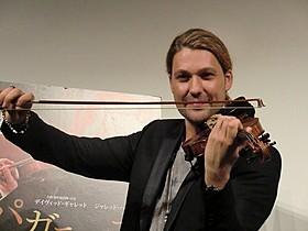 5億円と言われる名器ストラディバリウスで3曲を演奏した「パガニーニ 愛と狂気のヴァイオリニスト」