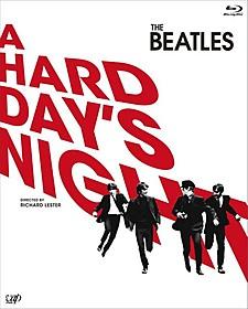 「ハード・デイズ・ナイト」ブルーレイ 初回限定版のパッケージ「ビートルズがやって来る ヤア!ヤア!ヤア!」