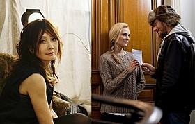 ナレーションを担当したYOUと映画の一場面「バツイチは恋のはじまり」