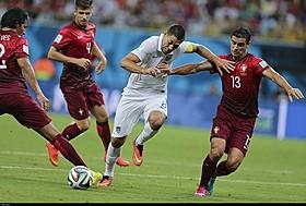 アメリカ対ポルトガル戦の一幕