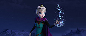「アナと雪の女王」のエルサ「アナと雪の女王」