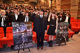 関智一と花澤香菜がトークイベントに出席「劇場版 PSYCHO-PASS サイコパス」