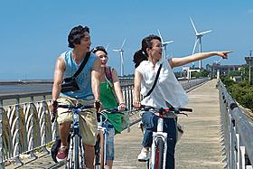 「南風」の一場面「サイクリング」
