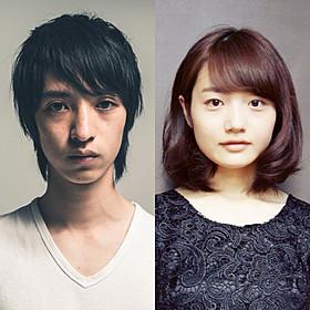 「死んだ目をした少年」に主演する 清水尚弥とヒロイン役の紗都希「死んだ目をした少年」