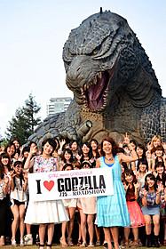 「GODZILLA」を熱烈 アピールした波瑠とLiLiCo「ゴジラ」