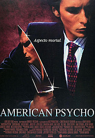 映画版「アメリカン・サイコ」のポスター「アメリカン・サイコ」