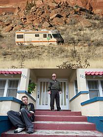 「ブレイキング・バッド」の世界を見たい! 砂漠の都市が人気観光地化