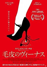 「毛皮のヴィーナス」日本版ポスタービジュアル「毛皮のヴィーナス」