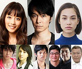 2部作で製作される「進撃の巨人」には長谷川博己、 石原さとみ、水原希子、本郷奏多ら豪華キャストが結集!