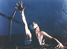 「死霊のはらわた(1981)」の一場面「死霊のはらわた」