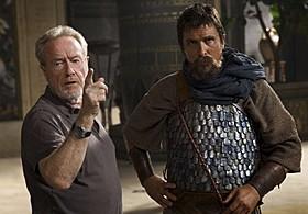 リドリー・スコット監督とクリスチャン・ベール「エクソダス:神と王」
