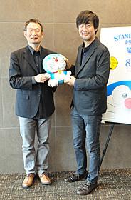 山崎貴監督(右)と八木竜一監督「バック・トゥ・ザ・フューチャー」