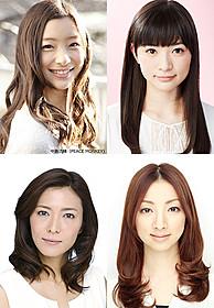 「でーれーガールズ」に主演する足立梨花と優希美青、 9年ぶりに共演する安蘭けいと白羽ゆり「でーれーガールズ」