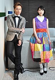 和希と春山を演じた能年玲奈と登坂広臣「ホットロード」