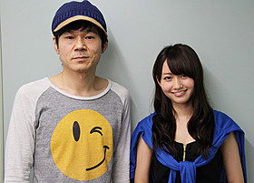 「でーれーガールズ」に 出演する甲本雅裕と桃瀬美咲「でーれーガールズ」