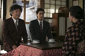 「花子とアン」に出演する茂木健一郎「あん」