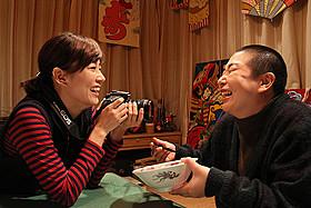 大島美幸がおっさん役を演じた「福福荘の福ちゃん」「福福荘の福ちゃん」