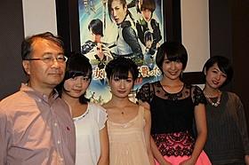 勢いのある女優4人が結集!「少女は異世界で戦った」