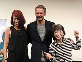 フェリックス・ハーングレン監督を迎えたLiLiCoと綾戸智恵「100歳の華麗なる冒険」
