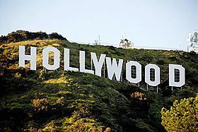 ハリウッドのシンボル「ハリウッドサイン(HOLLYWOOD)」「ラッシュアワー」