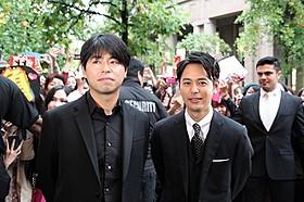 バンクーバー国際映画祭に参加した妻夫木聡と石井裕也監督「バンクーバーの朝日」