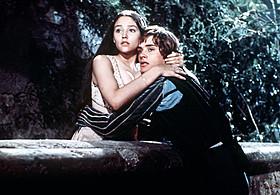 「ロミオとジュリエット(1968)」の一場面「ロミオとジュリエット(1968)」
