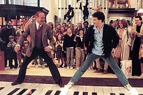 トム・ハンクス主演「ビッグ」の一場面「ビッグ(1988)」