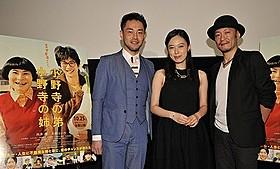 トークイベントを行った(左から)西田征史監督、寿美菜子、桂正和氏「小野寺の弟・小野寺の姉」