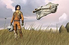 「スター・ウォーズ 反乱者たち」場面カット「スター・ウォーズ」