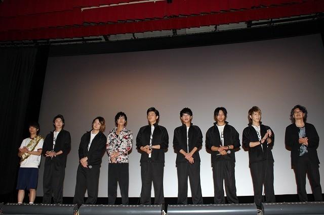 渡辺大輔らイケメン8人集合にファン大熱狂! 「カバディーン!!!!!!!」初日挨拶で