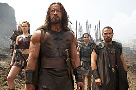 ヘラクレス率いる傭兵軍団のチームワークも見もの!「ヘラクレス」