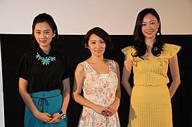 京都トークで盛り上がった女性キャスト陣「マンガ肉と僕」