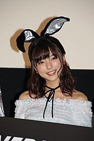 バニー衣装でファンを喜ばせた真野恵里菜「THE NEXT GENERATION パトレイバー 第5章」