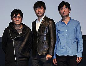 トークショーを行った(左から) 大友啓史、山崎貴、李相日「七人の侍」