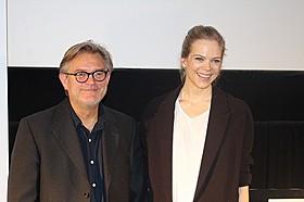 ベント・ハーメル監督とアーネ・ダール・トルプ「キッチン・ストーリー」