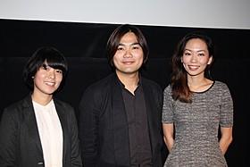 TIFFへ2度目の出品を果たしリャオ・チエカイ監督(中央)「あの頃のように」