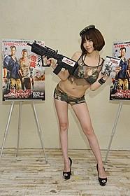 アクション&エロ満載な「ストライバック」 DVD発売記念イベントに出席した森下悠里「300 スリーハンドレッド 帝国の進撃」