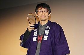 吉田大八監督(写真は観客賞授賞式で撮影)「紙の月」