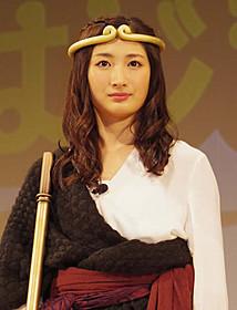 妖怪ハンターとしてアクションを披露した武田梨花「西遊記 はじまりのはじまり」